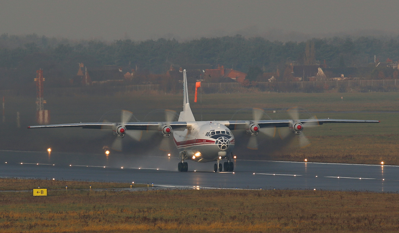 Ukraine Air Alliance Antonov An-12BP UR-CAK<br /> By Correne Calow.