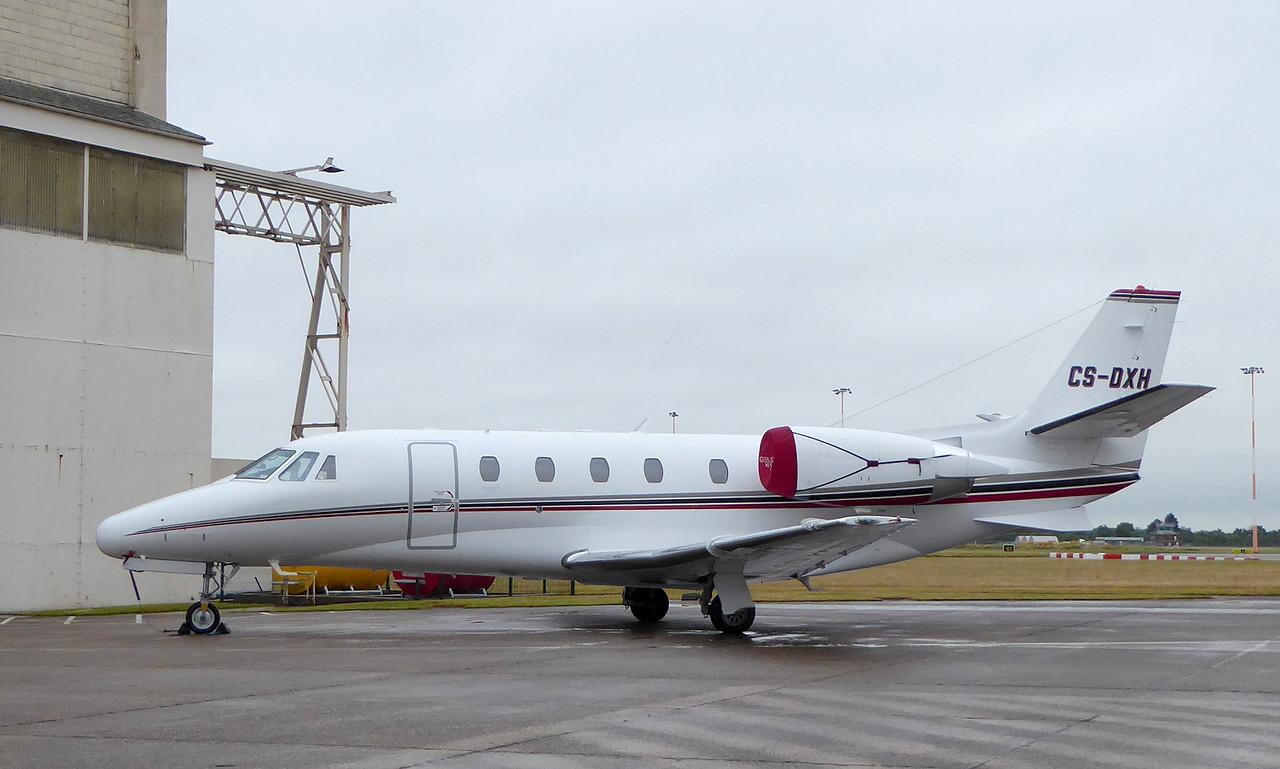 Netjets Europe, Cessna 560XLS Citation Excel CS-DXH<br /> By Correne Calow.