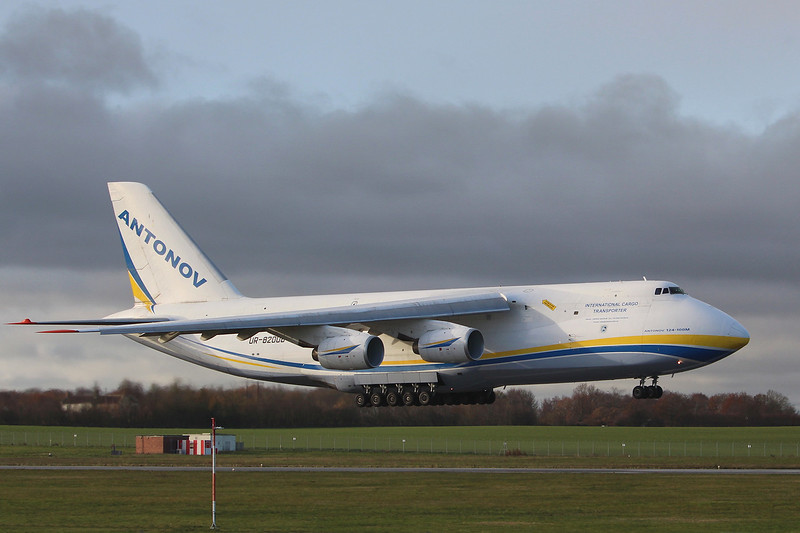 Antonov Design Bureau, An-124-100M-150, UR-82008<br /> By Graham Miller.