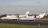 Netjets Europe, Cessna 560XL Citation XLS, CS-DXO and Prince Aviation, Cessna 525 CitationJet CJ1, YU-SCJ<br /> By Correne Calow.