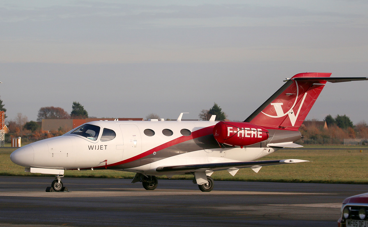 Blink Ltd, Cessna 510 Citation Mustang, F-HERE<br /> By Correne Calow.