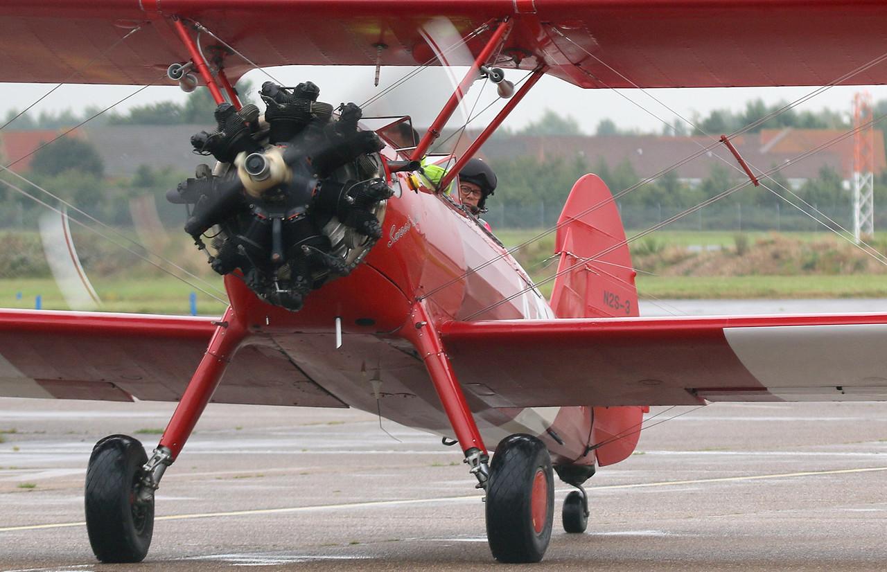 TG Aviation, Stearman ST75, G-BTFG<br /> By Correne Calow.