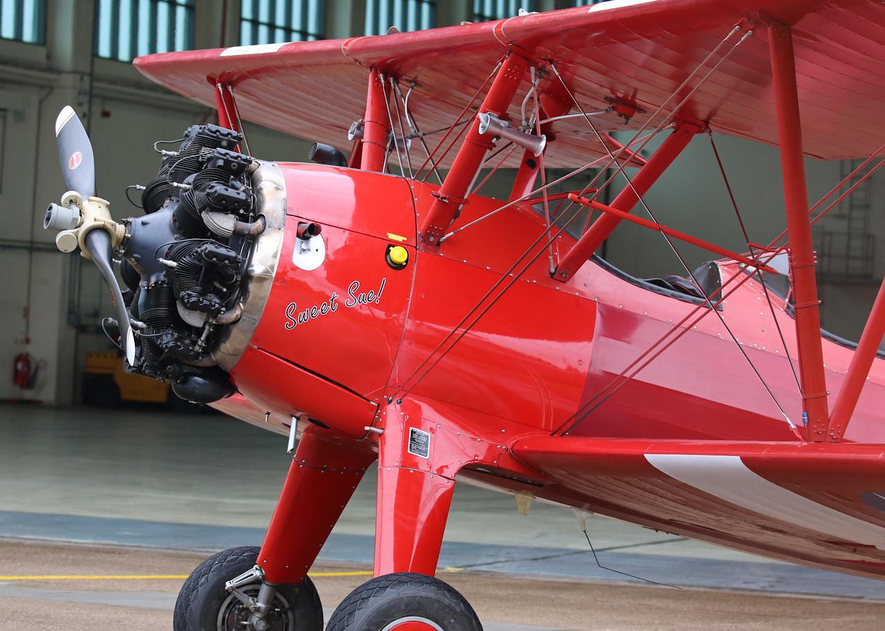 "TG Aviation, Stearman ST75, G-BTFG  - ""Sweet Sue""<br /> By Correne Calow."
