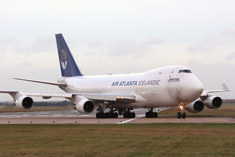 Air Atlanta Icelandic, 747-400F, TF-AMQ<br /> By Graham Miller.
