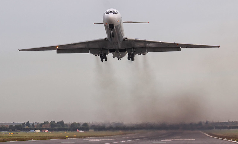 Rada Airlines Ilyushin Il-62 EW-450TR.<br /> By Jim Calow.