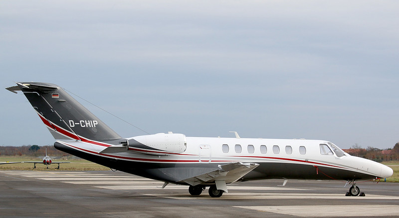 Cessna 525B CitationJet 3, D-CHIP<br /> By Correne Calow.