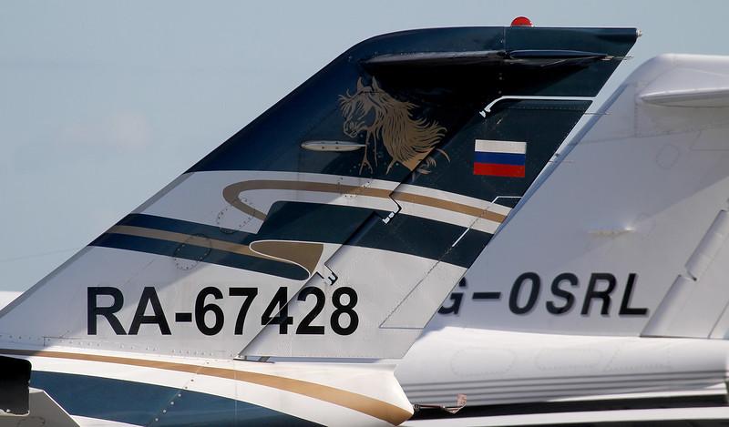 Jet Travel Club, Cessna 525 CitationJet CJ1 RA-67428<br /> By Jim Calow.