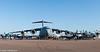 Boeing C-17 and Grumman C-2 Greyhound