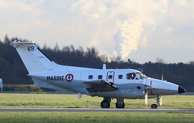 French Navy, EMB-121 Xingu, 69 By Correne Calow.