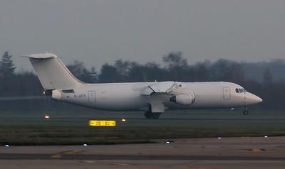 Jota Aviation BAe 146-300QT G-JOTF By Jim Calow.