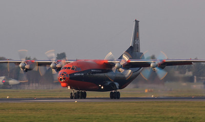 Cavok Airlines, Antonov An-12BK, UR-CKL By Jim Calow.