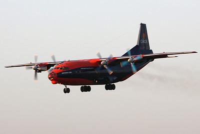 Cavok Airlines, Antonov An-12BK, UR-CKL By Graham Miller.