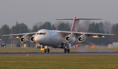 Jota Aviation BAe 146-300QT G-JOTE By Jim Calow.