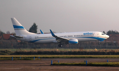 Enter Air, 737-800, SP-ENG By Jim Calow.