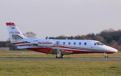 Cessna 560 Citation XLS+ YU-TBA By Correne Calow.