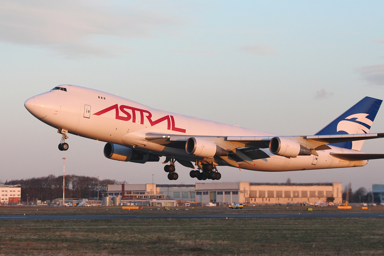 Astral Aviation (Air Atlanta Icelandic) 747-400F TF-AMU<br /> By Graham Miller.