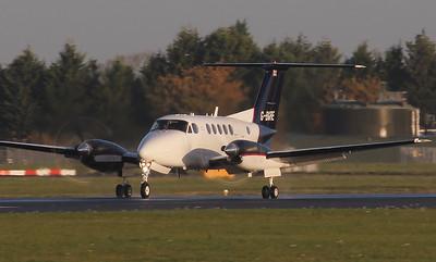Martin-Baker, Beech 200 Super King Air, G-BGRE By Jim Calow.