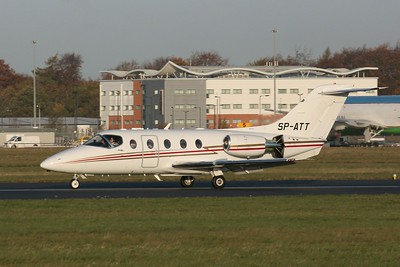 Smart Jet Beech 400A SP-ATT By Clive Featherstone.