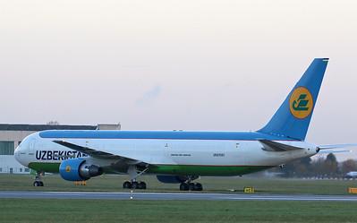 Uzbekistan Airways, 767-300F, UK67001 By Correne Calow.