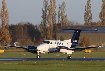 Martin-Baker, Beech 200 Super King Air, G-BGRE By Correne Calow.