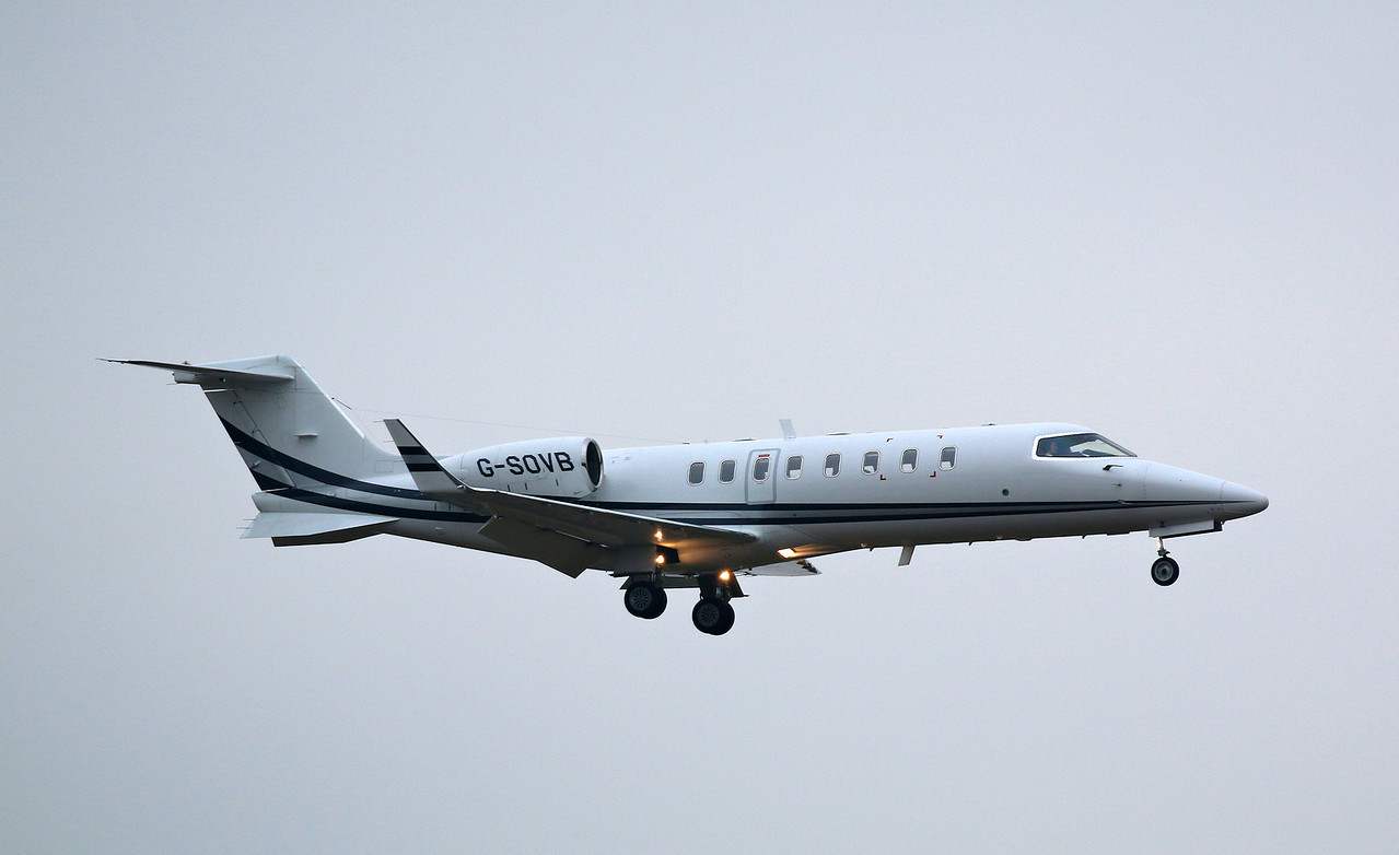 Zenith Aviation, Learjet 45, G-SOVB<br /> By Correne Calow.