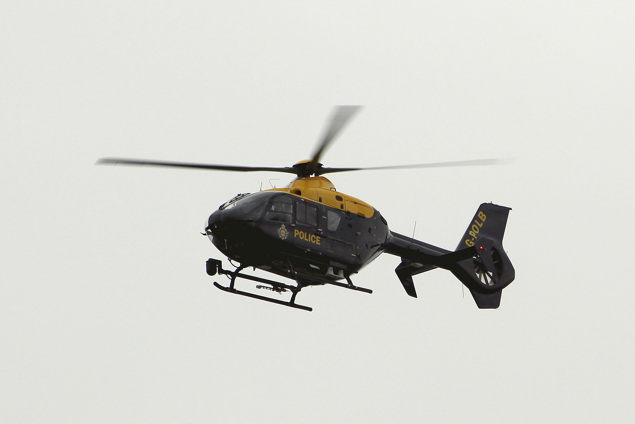 National Police Air Service, Eurocopter EC135 T2+, G-POLB (Police 42)<br /> By Graham Miller.
