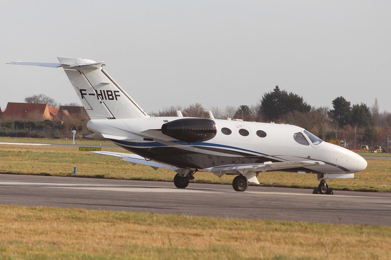 AstonJet, Cessna 510 Citation Mustang, F-HIBF<br /> By Graham Miller.