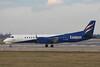 Eastern Airways Saab 2000, G-CDEA<br /> By Graham Miller.