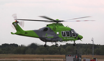 Children's Air Ambulance, Leonardo Helicopters AW169 G-TCAA. By Jim Calow.