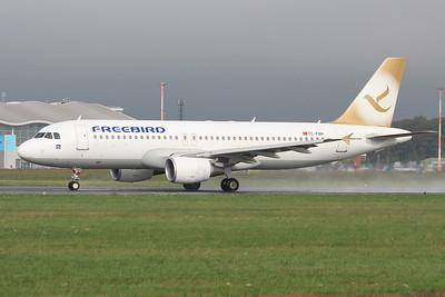 Freebird Airlines, A320, TC-FBH By Graham Miller.