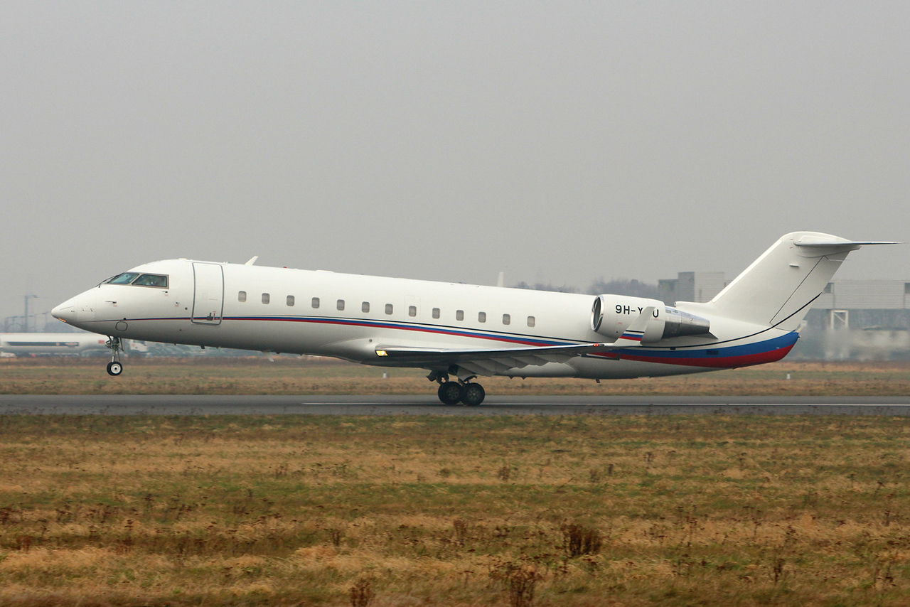 Air X Challenger 850, 9H-YOU<br /> By Graham Miller.