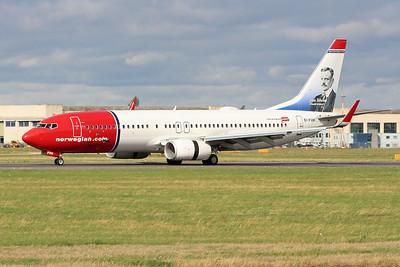 Norwegian Air International, 737-800, EI-FVH By Graham Miller.