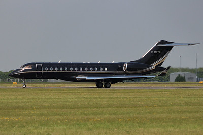 TAG Aviation,  Bombardier BD-700 Global Express, G-CEYL By Graham Miller.