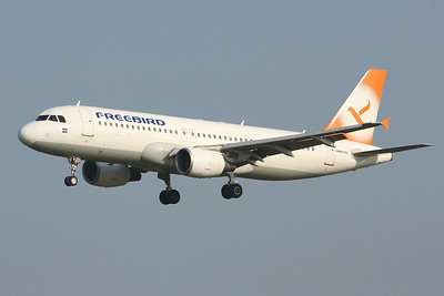 Freebird Airlines, A320, TC-FHC By Graham Miller.