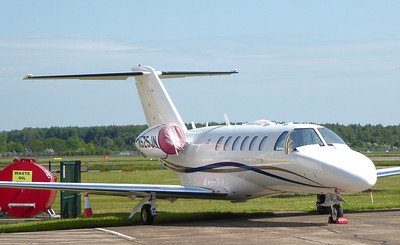 Cessna 525A CitationJet CJ2+, N525JN By Correne Calow.