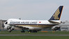 Singapore Airlines, 747-400F,  9V-SFK<br /> By Correne Calow.