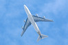 Singapore Airlines, 747-400F,  9V-SFK over the field<br /> By Correne Calow.