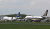 Air Atlanta Icelandic, 747-400F, TF-AMQ and Singapore Airlines, 747-400F,  9V-SFK<br /> By Correne Calow.