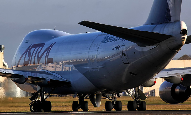 Astral Aviation (Air Atlanta Icelandic) 747-400F TF-AMU<br /> By Jim Calow.