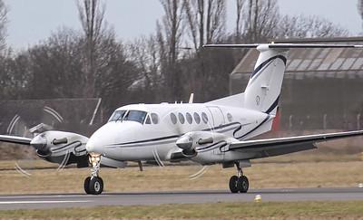IAS Medical Ltd Beech B200 Super King Air G-IASA. By Jim Calow.