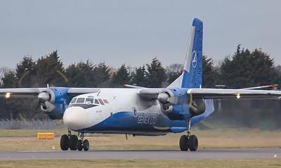 Genex Ltd An-26B EW-259TG. By Jim Calow.