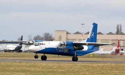 Genex Ltd, Antonov An-26B, EW-259TG By Correne Calow.