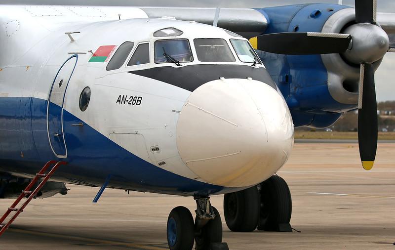 Genex Ltd,  Antonov An-26B, EW-259TG<br /> By Correne Calow.