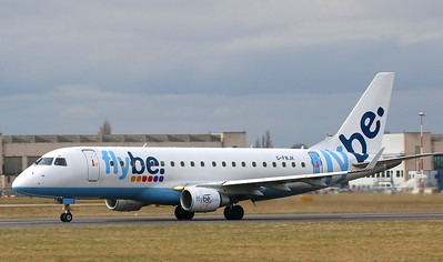 Flybe EMB-175STD G-FBJK By Correne Calow.