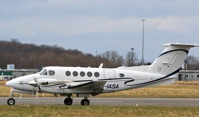 IAS Medical Ltd Beech B200 Super King Air G-IASA By Correne Calow.