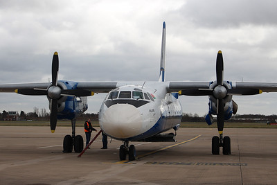 Genex Ltd,  Antonov An-26B, EW-259TG By Graham Miller.