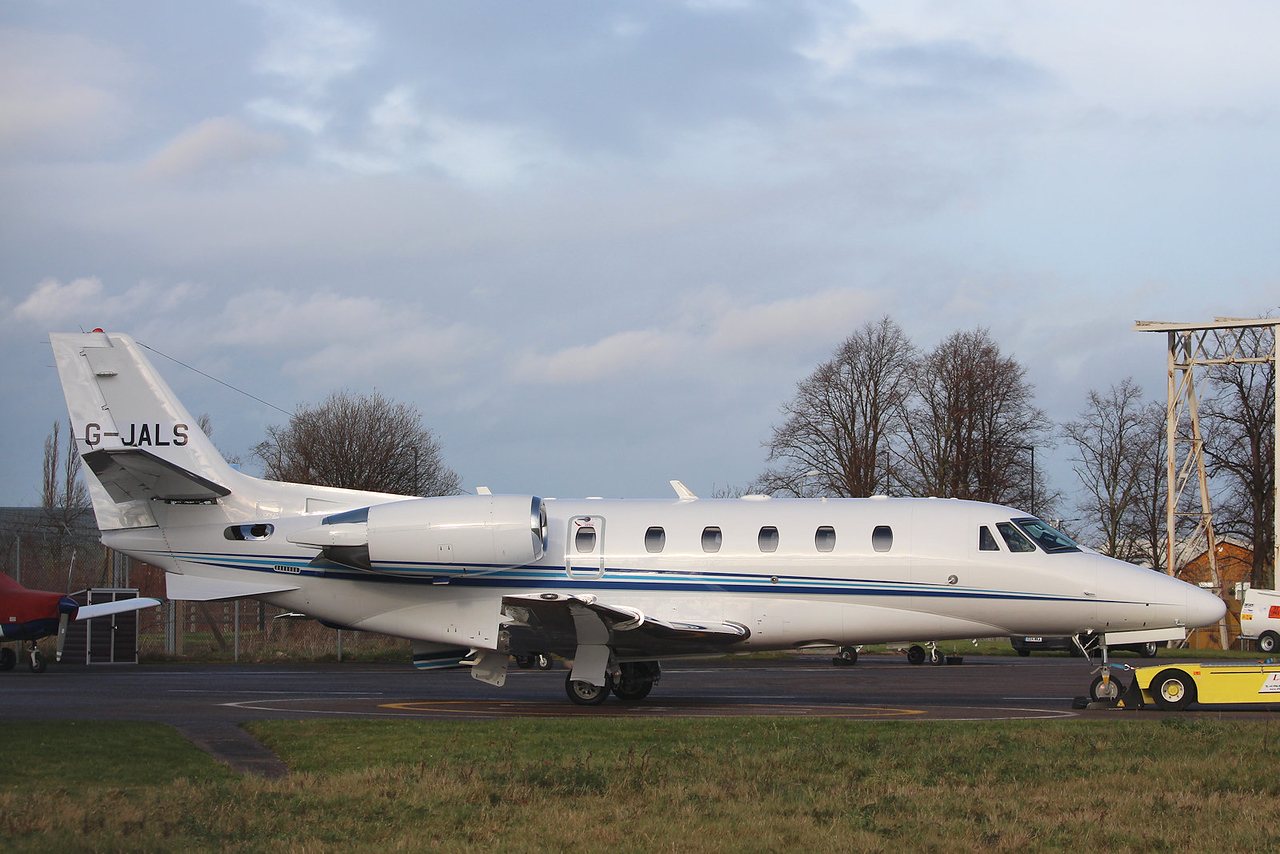 Air Charter Scotland, Cessna 560XL Citation XLS+, G-JALS (ex M-AKAL)<br /> By Graham Miller.
