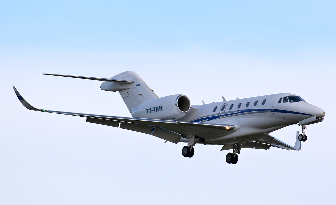 Richstone Avia, Cessna 750 Citation X, T7-TAN<br /> By Correne Calow.