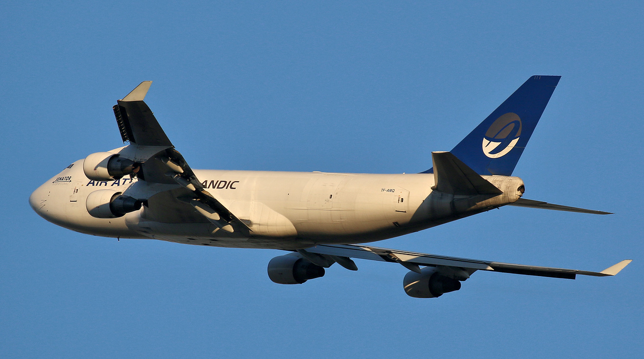 Air Atlanta Icelandic, 747-400F, TF-AMQ<br /> By Correne Calow.