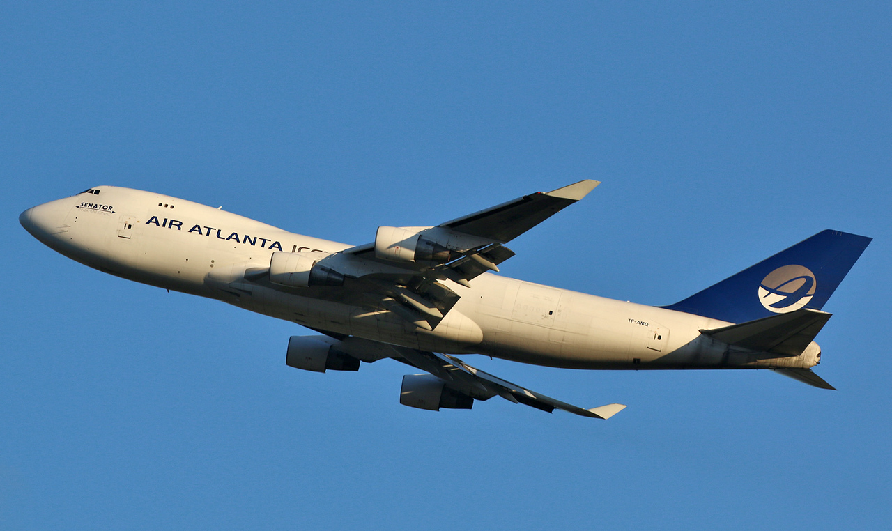 Air Atlanta Icelandic, 747-400F, TF-AMQ <br /> By Correne Calow.